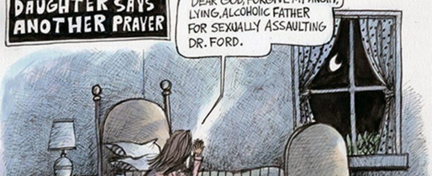 An Open Letter to the Cartoonist Who Mocked Kavanaugh's Daughter